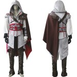 New-Costum-Made-Assassin-s-Creed-2-II-Ezio-white-anime-cosplay-costume-Classic-Costume