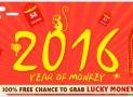 Promoção no site chinês BangGood – 2016 Ano do Macaco