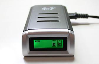 O Carregador de pilhas alcalinas e comuns funciona?